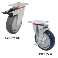 Cens.com plate Swivel Casters SOON YOU RUBBER INDUSTRIAL CO., LTD.